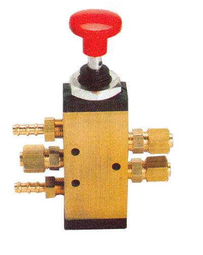 Válvulas neumáticas de mando manual (2 posiciones)